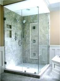how much does a frameless shower door cost installing shower door installing shower doors com cost