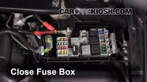 replace a fuse 2001 2009 volvo s60 2008 volvo s60 2 5t 2 5l 5 6 replace cover secure the cover and test component