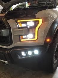 Rigid Raptor Lights 2017 2019 Ford Raptor Fog Light Bucket Brackets Hid Kit Pros
