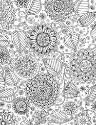 469 Best Floral Coloring Pages For Adults Images In 2019 Coloring