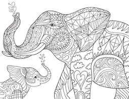 Small Picture New Adult Coloring Pages Elephant Victorian Garden and More