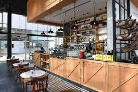 Industrial Rustic Cafe Interior Design Comelite Designs For Modern