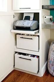 ikea office makeover. Ikea Office Storage Solutions Hidden Real Life Redo Home Makeover The Remaining Desk
