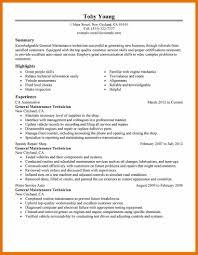 Maintenance Supervisor Resume Resume Description For Server