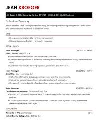 Simple Sample Resume Get The Job With A Simple Resume Guide My Perfect Resume