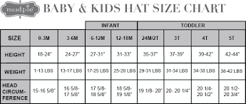 Infant Size Chart 2t Size Chart Baby Mud Pie