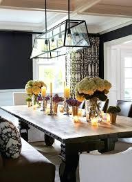 navy blue chandelier industrial dining table navy blue drum pendant lighting