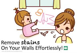 remove stains on your walls effortlessly
