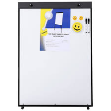 Standard Size Magnetic Flip Chart Whiteboard