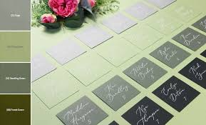 Ombre Seating Chart Idea For Your Wedding