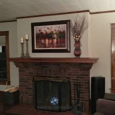 best paint color for dark wood trim brick fireplace sherwin williams balanced beige