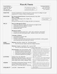 Resume For Housekeeping Job Housekeeper Resume Sample Luxury