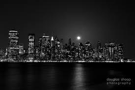 new york city skyline night black and white pixel city 1920x1080px high resolution desktop wallpaper
