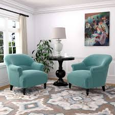 teal living room furniture. Chic Idea Turquoise Living Room Furniture Jackie 2 Pack Fabric Accent Chairs Click To Zoom Teal
