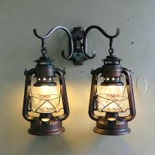 oil lamp wall sconce vintage industrial oil rubbed bronze wall sconce with 2 lights full size electric oil lamp wall sconce