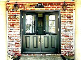 luxury front doors with glass panels decorating door replacement panel wonderful decor entry side oak front doors with glass panels