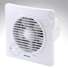 silhouette slimline six inch extractor fan timer vent axia