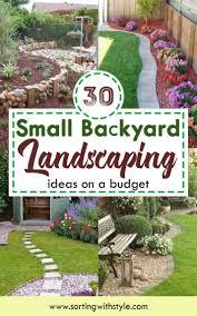 20 Fabulous Rock Garden Design Ideas 30 Small Backyard Landscaping Ideas On A Budget Beautiful