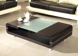 silver coffee table narrow leather low small white uk