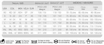 Fajas Colombianas Size Chart Size Chart Fajas Y Bodys Waist Training Fajas