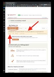 This Is A Step By Step Guide To Using The Citation Machine Web Page