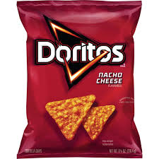 doritos nacho cheese tortilla chips 9 75 oz