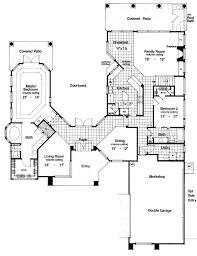 Small Picture Plan 6382HD Two Story Courtyard House Plan Courtyard house