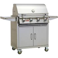 Bull Outlaw Inch Burner Freestanding Propane Gas Grill - Bull outdoor kitchen