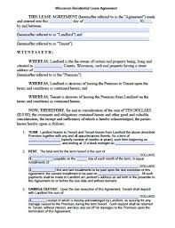 Free Editable Printable Lease Agreement Download Them Or Print