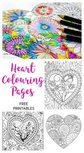 arty crafty kids colouring pages hearts heart coloring pages free heart coloring