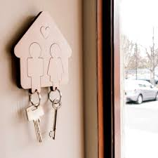 His & Hers Key Holder
