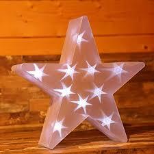 Gartenpirat 3d Stern ø 35 Cm Weihnachtsbeleuchtung Mit Led
