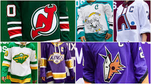 The 2021 nhl winter classic that they will host will be postponed to 2022. Nhl Power Rankings Ranking The 31 Reverse Retro Jerseys