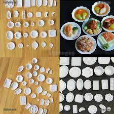Bộ 33 món đồ ăn mini cho nhà búp bê   Ngôi nhà búp bê