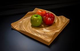 Decorative Bowls And Trays Liquid Plywood Vortex Decorative Bowl or Tray by CreativeCNC 96