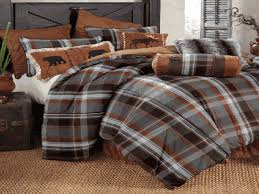 boulder creek log cabin bedding