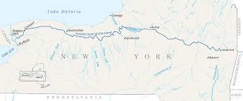 Erie Canal Map Altheramedical Com