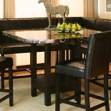 Marble Top Kitchen Work Table Chatham Square Clipped Corner Pub Table W Faux Marble Top By