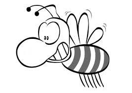 Bijen Kleurplaat Beste Kleurplaten