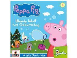 Sony Music Entertainment Germa Peppa Pig Hörspiele - 005/Wendy Wolf hat  Geburtstag (und 5 weitere Gesch - CD - Lidl.de