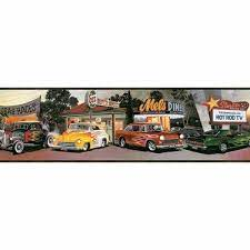 decades hot rods cars diners racing