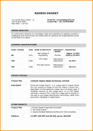 Latest Resume Templates 2015 Format Of Awesome Template Free
