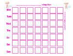 Potty Training Chart Printable Girl Potty Training Charts