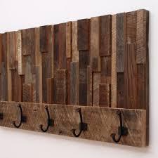 Distressed Wood Coat Rack reclaimed wood coat rack Design Decoration 11