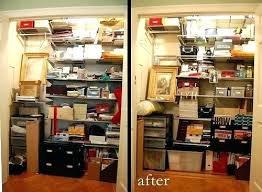 home office closet. Office Closet Organizer Supply Home Storage
