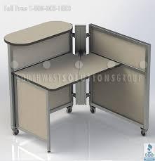 office workstation desks. Mobile-workstation-cubicle-movable-rolling-desk-furniture.jpg Mobile Workstation Cubicle Movable RollingRolling.. Office Desks