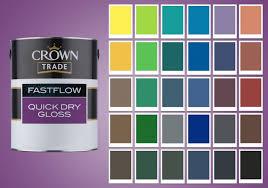 Paint Colour Chart Crown Lilac Paint Colours Paint Colour Palette For Girls Room