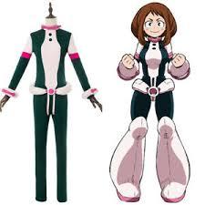 Details About My Hero Academia Boku No Ochako Uraraka Cosplay Costume Suit Outfit Uniform