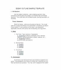 example of essay outlines format sample essay outline examples narrative essay outline example