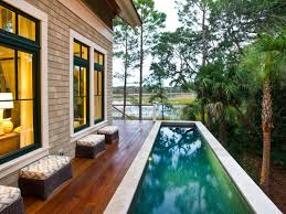 above ground home pools. Plain Home Sleek Pool Deck At 2013 HGTV Dream Home On Above Ground Pools R